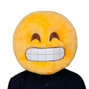 Emoticon Emoji Grin/Smile Mask for adults (MH1285)